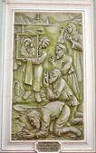 Náboženské freska — Stock fotografie