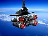 Space transport — Stockfoto
