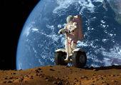 Der astronaut — Stockfoto