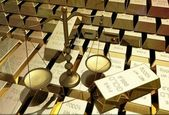 Lot of gold — Stock Photo