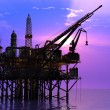 Oil Rig — Stock Photo #6156305