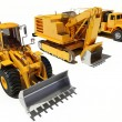 Stock Photo: Construction equipment
