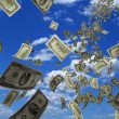 Money denominations — Foto Stock