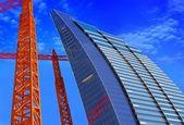 Skyscraper construction — Stock Photo