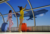 The airport — Stock Photo