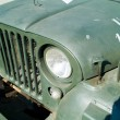 Detail of a jeep - Stock Photo