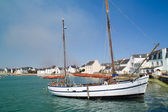 Ile-tudy in brittany france — Stock Photo