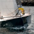 Yacht race at regatta — Foto de Stock