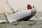Yacht race at regatta — Stock Photo
