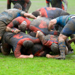 Rugby match - Stock Photo