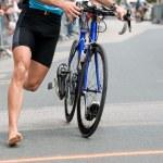 Triathlon — Stock Photo #6076618