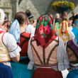 Stock Photo: Slovak costumes