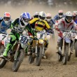Stock Photo: Motocross competition