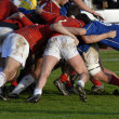 Stock Photo: Rugby sport competition