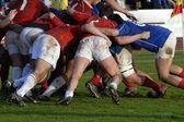 Competizione sportiva rugby — Foto Stock