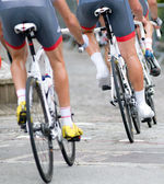 Sport Cycling team — Stock Photo