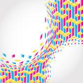 Vector de fondo. abstracto colorido — Vector de stock