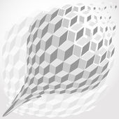 Abstract hexagon background — Stockvektor
