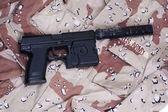Pistola de operación especial con silenciador — Foto de Stock