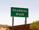 Wassen van de doden uit — Stockfoto