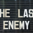 The Last Enemy - Stock Photo
