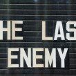 The Last Enemy — Stock Photo