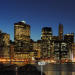 Lower Manhattan Skyline — Stock Photo #5516794