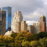 Columbus Circle Skyscrapers — Stock Photo #5516802
