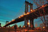 Manhattan bridge — Foto de Stock