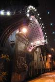 Arch på manhattan bridge — Stockfoto
