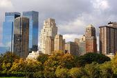 Columbus Circle Skyscrapers — Stock Photo