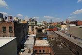 Skyline de la ciudad de nueva york — Foto de Stock