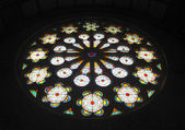 Judaic Stained Glass — Stock Photo