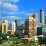 Downtown Atlanta, Georgia Skyline — Stock Photo