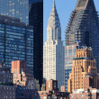 Midtown Manhattan Skyline — Stock Photo