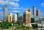 Downtown Atlanta, Georgia Skyline — 图库照片