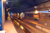 Túnel do metrô — Fotografia Stock