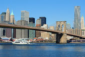 River Cruise on the East River — Stock Photo