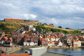 Cliffs in Whitby, England — Stock Photo