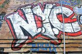 NYC Graffiti — Stock Photo