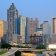Atlanta, Georgia Skyline - 图库照片