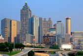 Atlanta, georgia-skyline. — Stockfoto