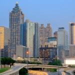 Atlanta-skyline — Stockfoto