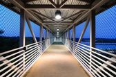 Walkway Corridor — Stock Photo
