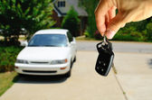 Araba anahtarları — Stok fotoğraf