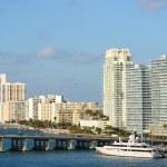 Star Island in Miami, Florida — Stock Photo