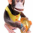 Cymbal monkey — Stock Photo