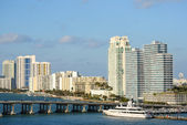 Star Island in Miami, Florida — Stock Photo