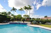 Florida Pool — Stock Photo