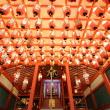 Japanese Shrine Interior — Foto Stock